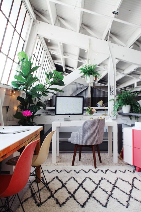 un bureau qui donne envie de travailler mademoiselle claudine le blog. Black Bedroom Furniture Sets. Home Design Ideas