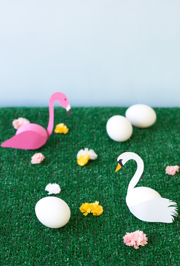 DIY-Swan-and-Flamingo-Easter-Eggs1