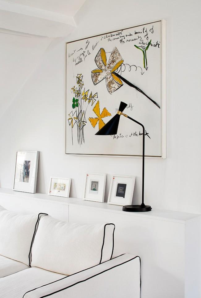 Home tour un duplex parisien by sarah lavoine for Sarah lavoine decoration
