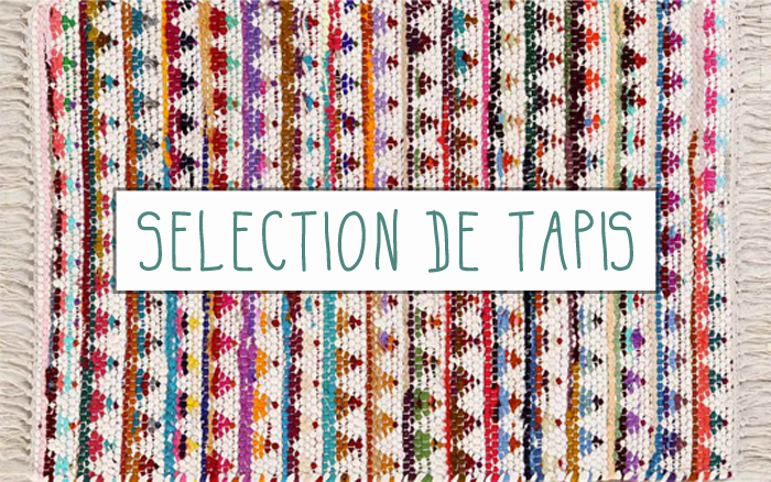 Shopping une selection de tapis mademoiselle claudine le blog - Les differents types de tapis ...
