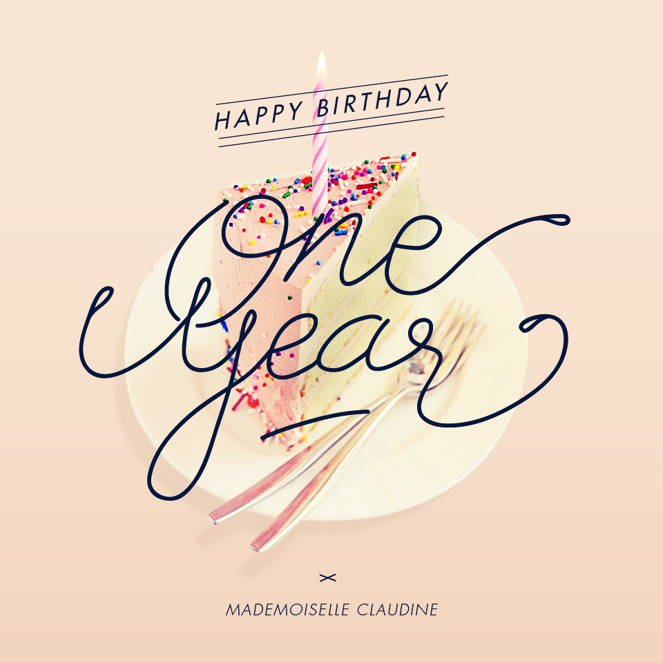 one-year-mademoiselle-claudine
