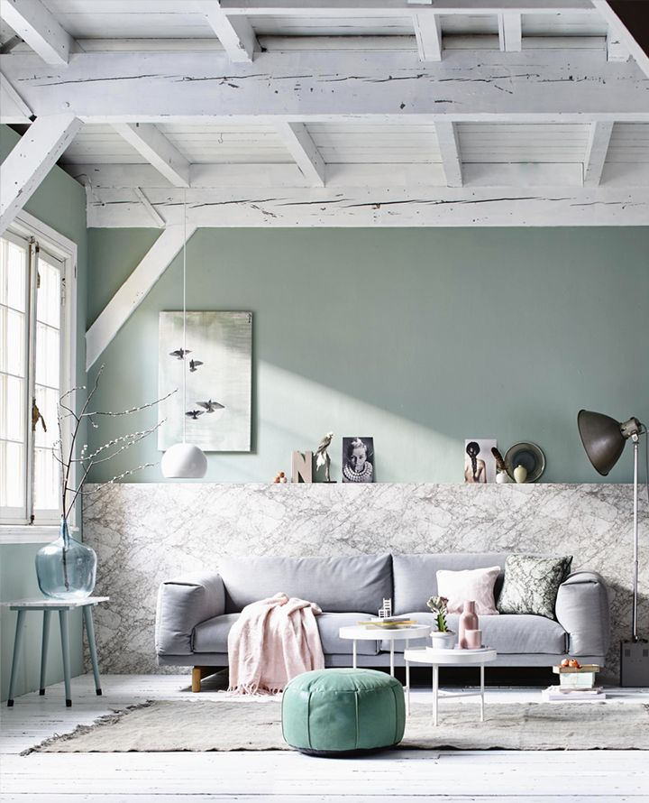 tendance couleur le vert de gris mademoiselle claudine le blog. Black Bedroom Furniture Sets. Home Design Ideas