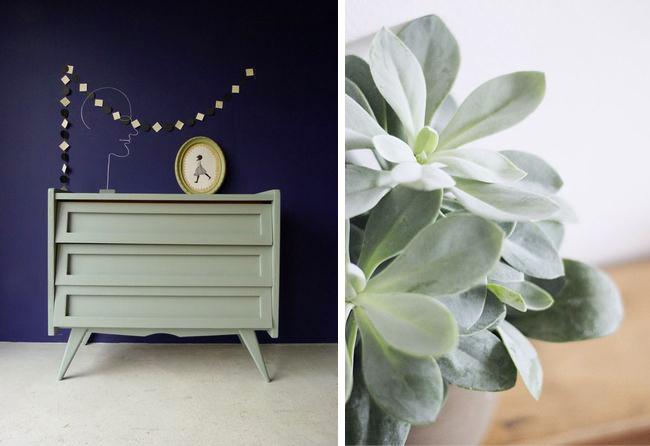 Tendance couleur le vert de gris mademoiselle claudine - Quelle couleur avec le vert ...