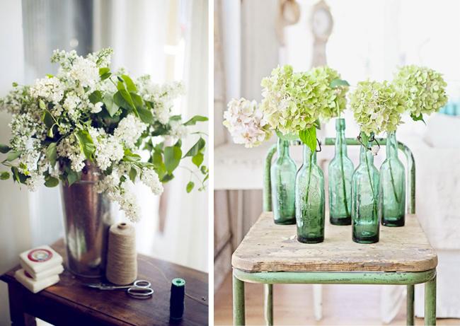 Bouquet façon Kinfolk