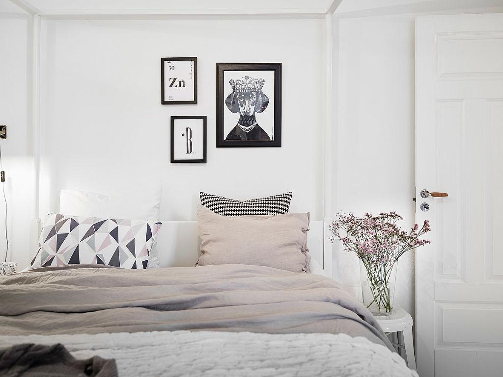 home-tour-scandinave-féminin-mademoiselle-claudine-chambre