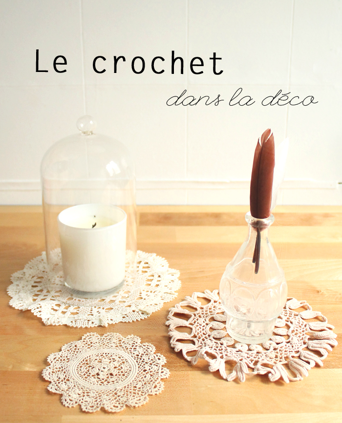 Home challenge le crochet dans la deco mademoiselle for Decoration de cuisine en crochet