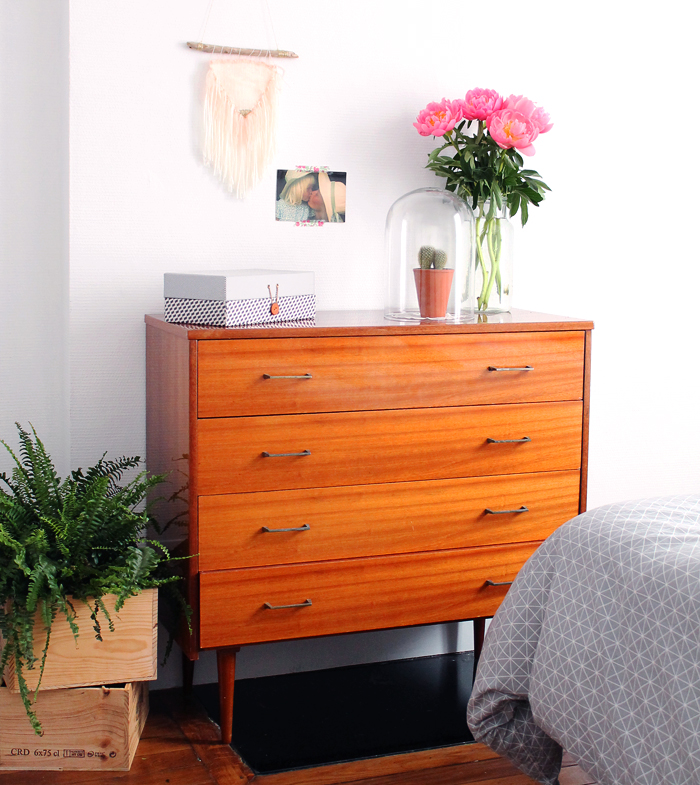 ma commode vintage ann es 60 et les autres mademoiselle claudine le blog. Black Bedroom Furniture Sets. Home Design Ideas