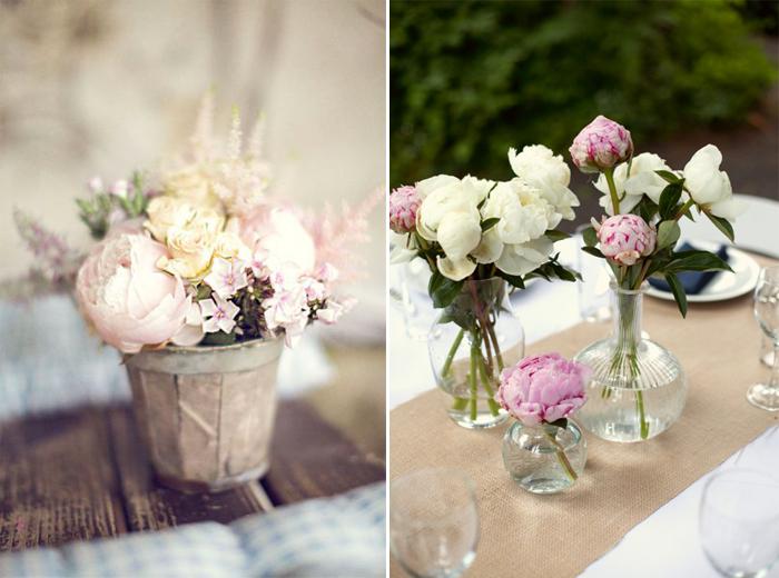 bouquet table mariage pivoine meilleur blog de photos de mariage pour vous. Black Bedroom Furniture Sets. Home Design Ideas