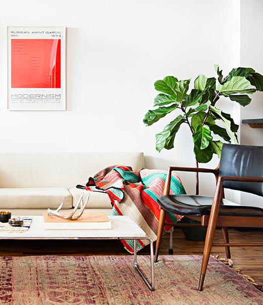 appartement-brooklyn-rétro-americain-salon-plaid-fauteuil-mademoiselle-claudine