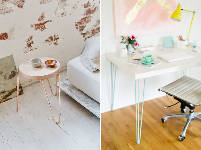 Source : thedesignchaser.com / stylemepretty.com