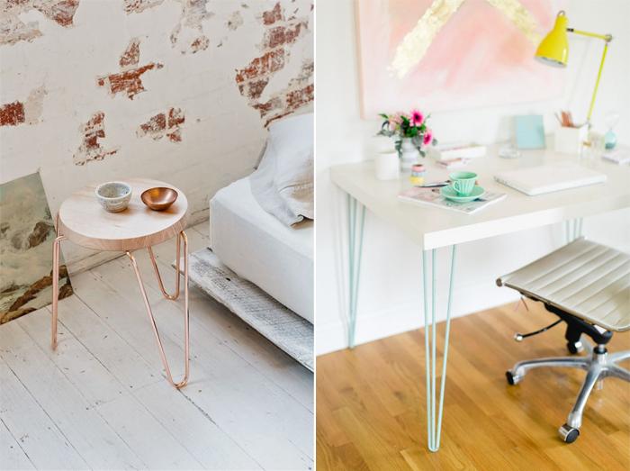 les pieds en pingle mon tabouret et d 39 autres meubles mademoiselle claudine le blog. Black Bedroom Furniture Sets. Home Design Ideas