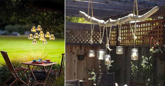 Une lanterne chaque exterieur mademoiselle claudine le for Lumiere decorative exterieure
