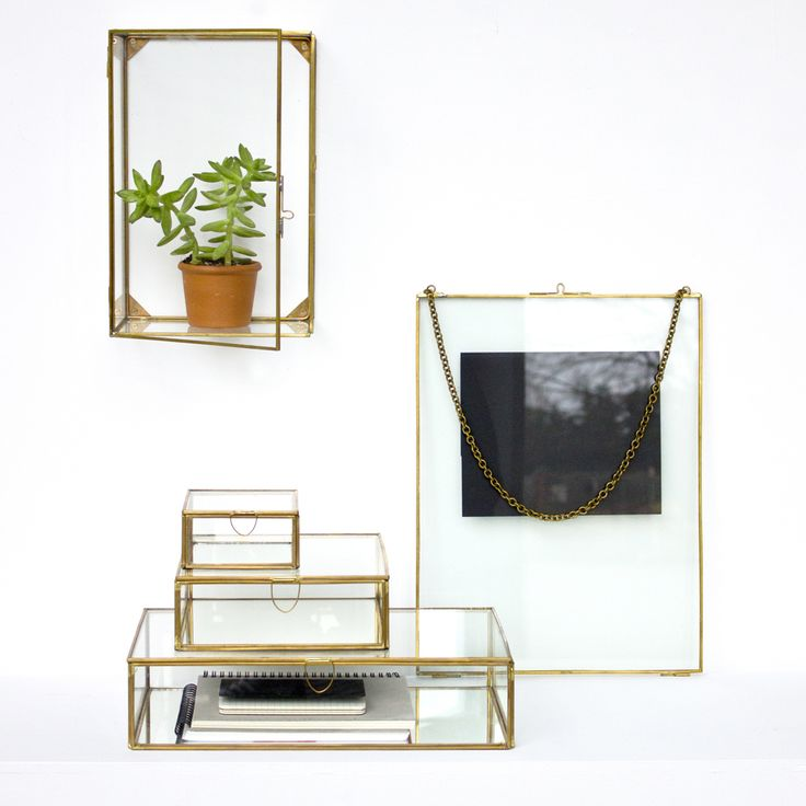 Cadres et miroirs en laiton mademoiselle claudine le blog for Miroir 40x60