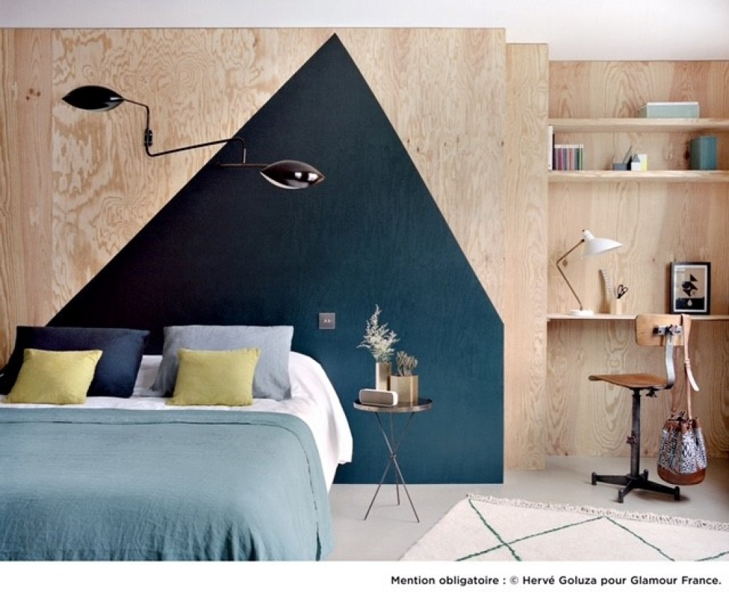 du bleu fonc dans la deco mademoiselle claudine le blog. Black Bedroom Furniture Sets. Home Design Ideas