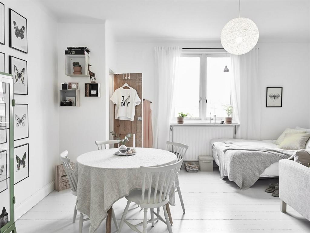 Charmant interieur d 39 une su doise mademoiselle claudine le blog - Idee deco charmant huis ...