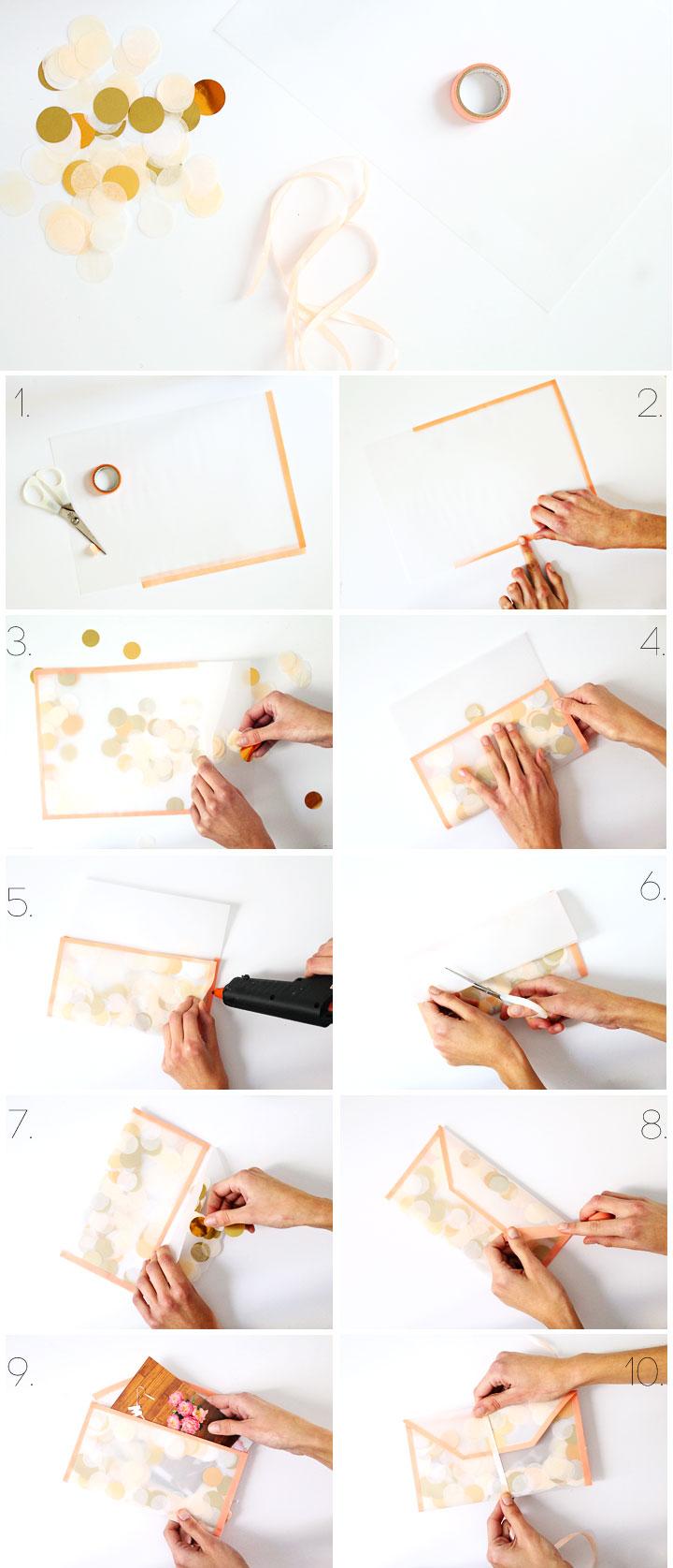 etapes-DIY-enveloppe-confettis