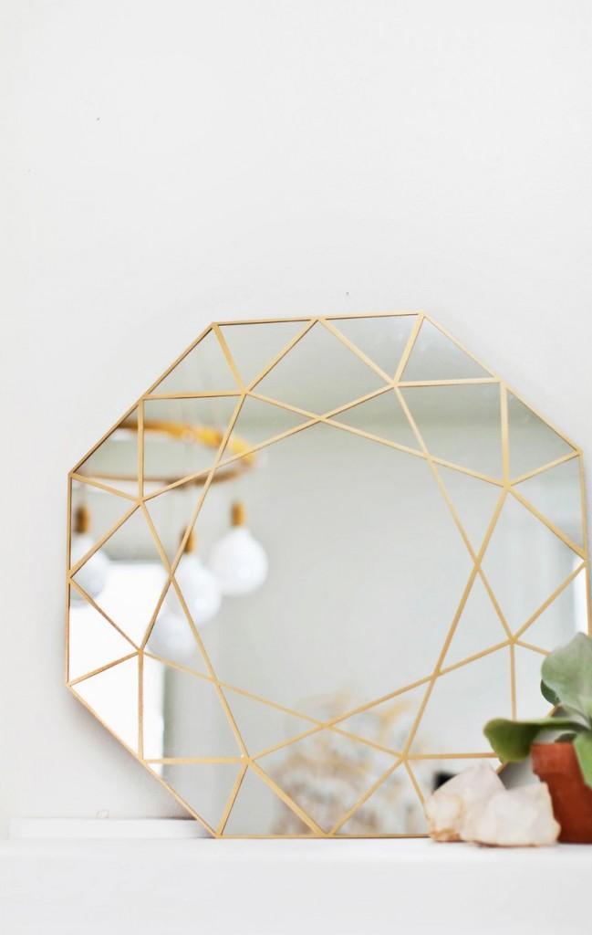 diy-géométrique-mirroir-doré-mademoiselle-claudine