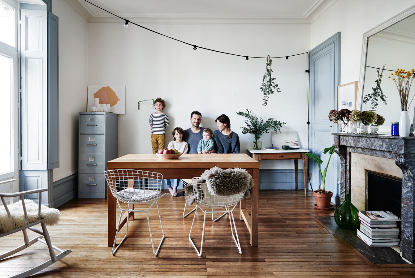 Un int rieur r tro aux tendances kinfolk mademoiselle for Mode decoration interieur