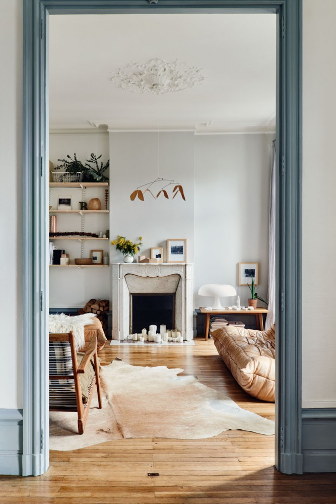 Un int rieur r tro aux tendances kinfolk mademoiselle for Interieur french
