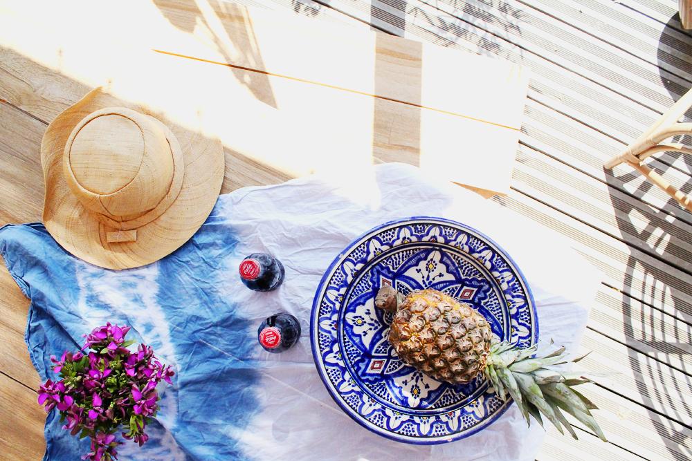 hamac-style-californien-ananas-chapeau-mademoiselle-claudine