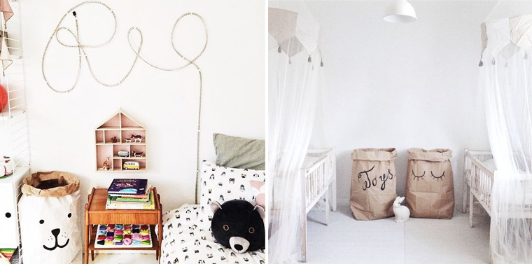 tendance rangement le paper bag mademoiselle claudine le blog. Black Bedroom Furniture Sets. Home Design Ideas