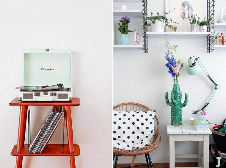 inspiration-couloeur-mint--accessoire-décoration-lampe-lecteur-vinyle-mademoiselle-claudine