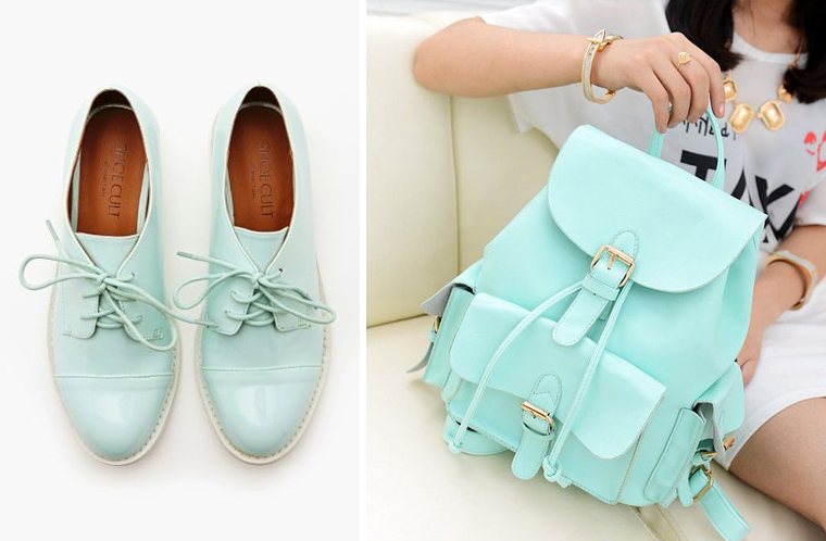 inspiration-couloeur-mint--mode-chaussure-et-sac