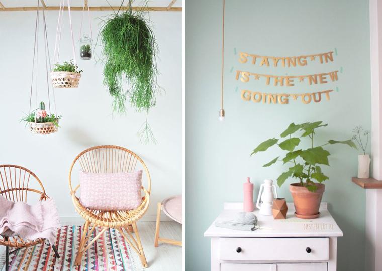 inspiration-couloeur-mint-peinture-mur-suspension-pour-plante-mademoiselle-claudine-
