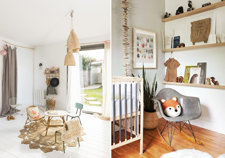 insparation chambre enfant decoration kinfolk nature mademoiselle claudine
