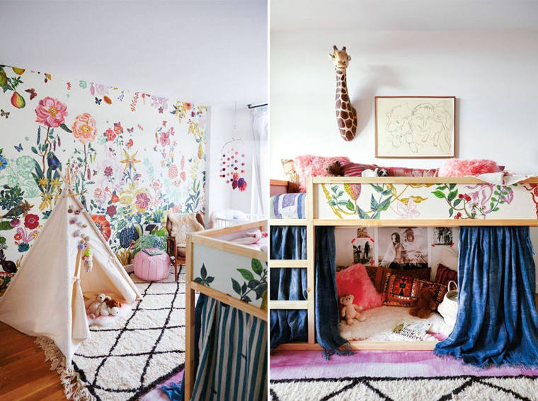 Inspiration chambre d 39 enfant la deco originale for Chambre fille originale