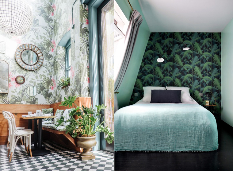 ispiration-tapisserie-tendance-jungle-exotique-mademoiselle-claudine