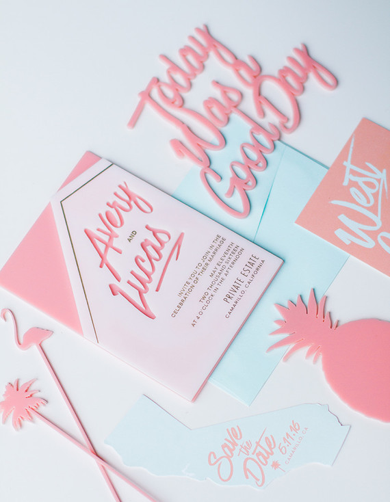 inspiration-party-mariage-californien-acidule-invitation-faire-part-ananas-rose-mademoiselle-claudine