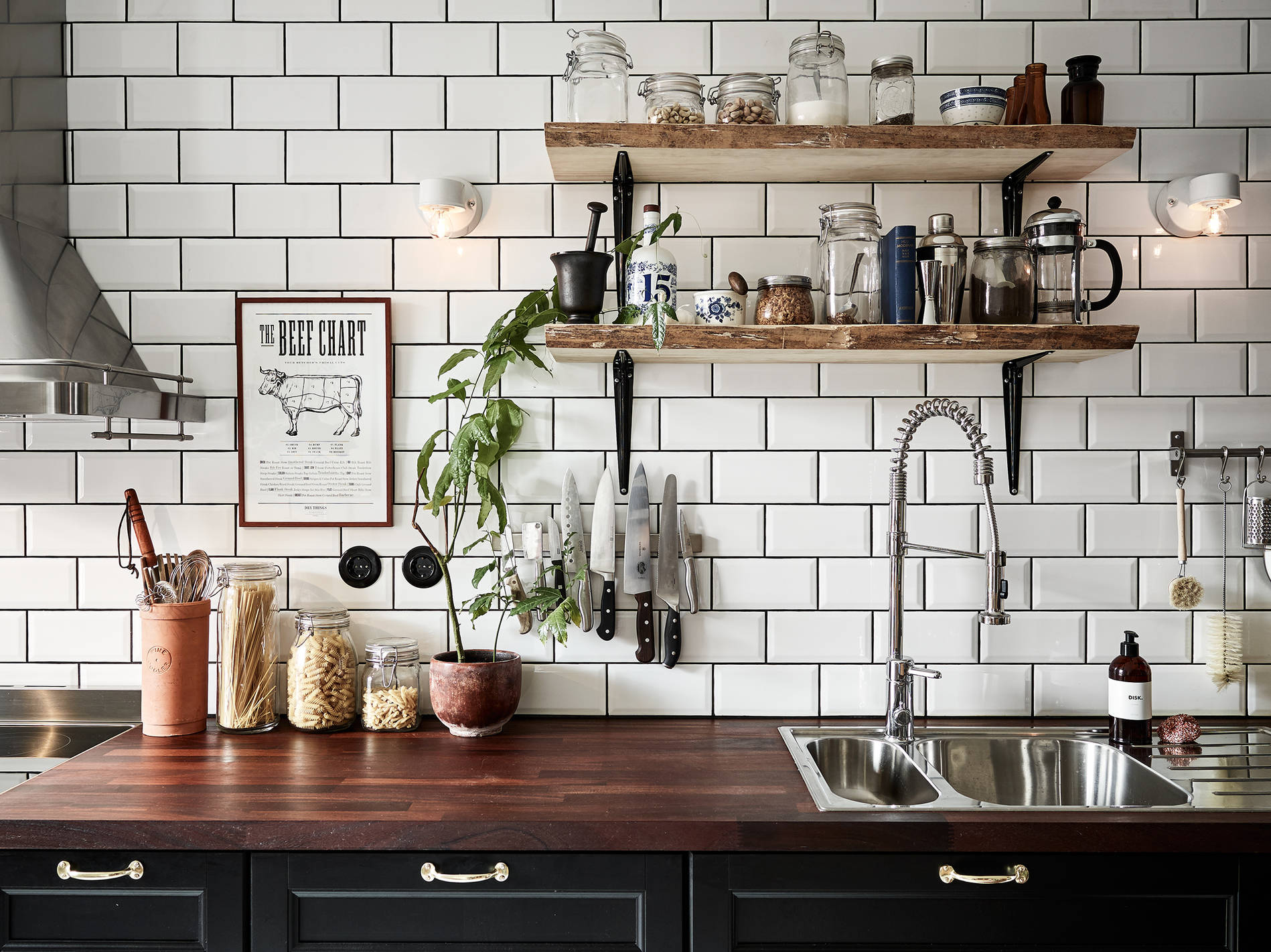 inspiration-decoration-cuisine-kitchen-bois-brut-mademoiselle-claudine