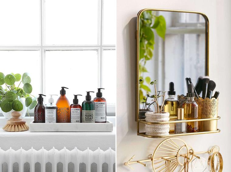 Inspiration salle de bain mademoiselle claudine le blog - Astuce rangement produit salle de bain ...