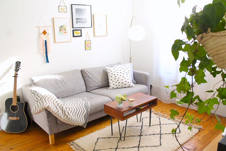 decoration-tapis-berbere-noir-blanc-salon