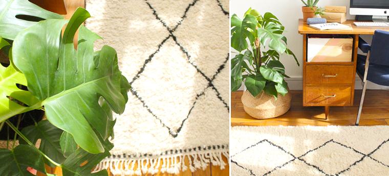 tapis-berbere-decoration-bureau-blanc-noir-mademoiselle-claudine