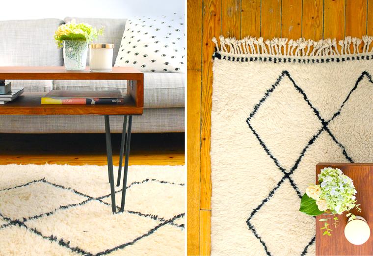 tapis-berbere-noir-blanc-decoraiton-salon-mademoiselle-claudin