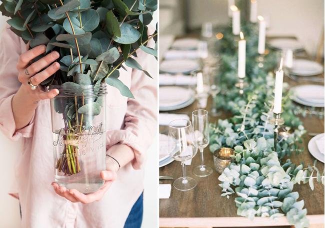 Les fleurs et plantes de no l mademoiselle claudine le blog - Bouquet centre de table noel ...