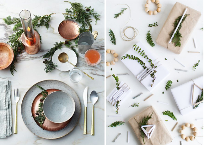 decoration-noel-plante-fleur-sapin-table-cadeaux-mademoiselle-claudine