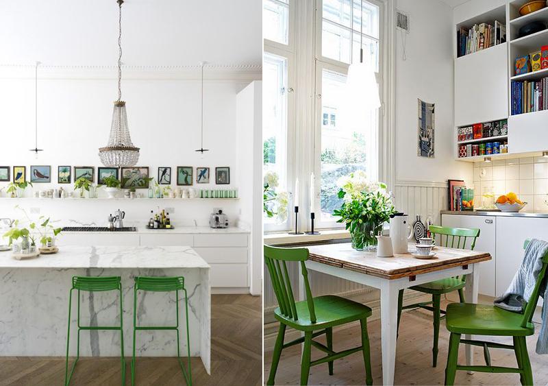 focus-couleur-vert-greenery-chaise-cuisine-mademoiselle-claudine