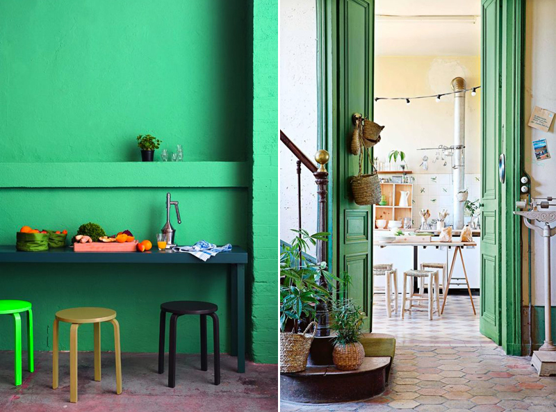 focus-couleur-vert-greenery-peinture-mur-porte-mademoiselle-claudine