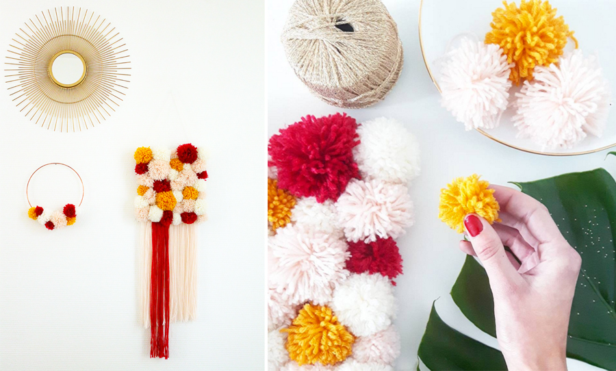 pompons-mania-mademoiselle-claudine-creation-decoraiton-murale