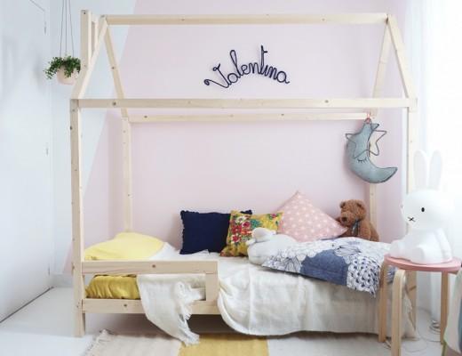 decoration chambre enfant bois lit cabane mademoiselle claudine