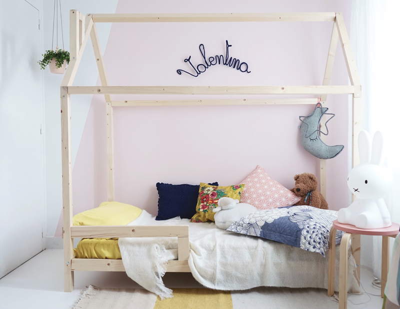 du bois dans une chambre d 39 enfant inspiration d co mademoiselle claudine le blog. Black Bedroom Furniture Sets. Home Design Ideas