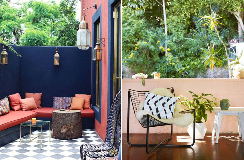 decorer une terrasse trendy faire une terrasse de style marocain with decorer une terrasse. Black Bedroom Furniture Sets. Home Design Ideas