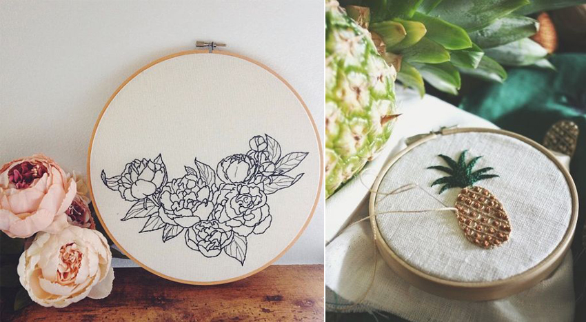 passe-temps-broderie-fleurs-ananas-mademoiselle-claudine