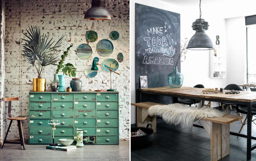 Decoration style industriel for Decoration industrielle