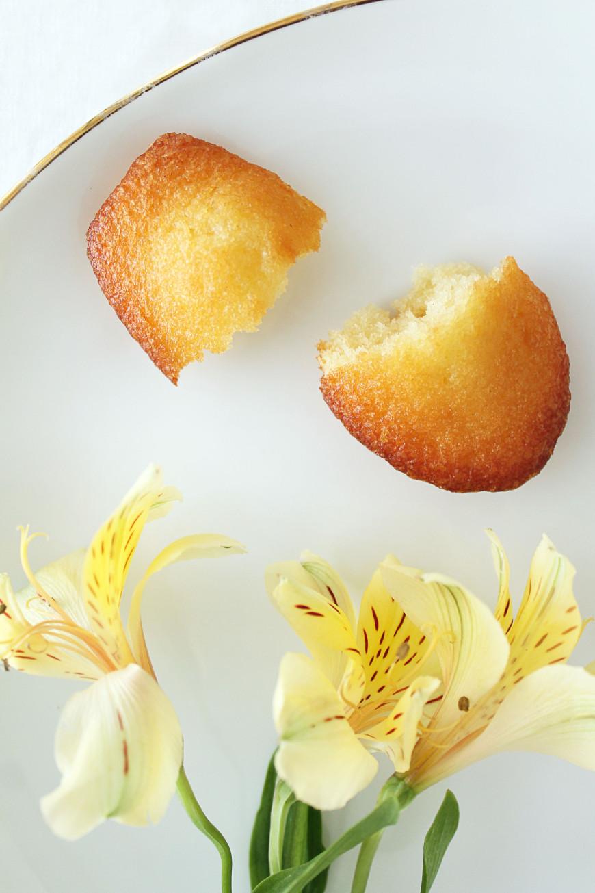 recette madeleine sans beurre