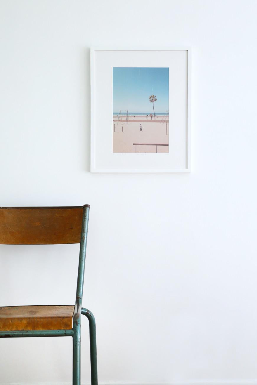 chaise-ecole-tableau-photo-venice-beach-mademoiselle-claudine-