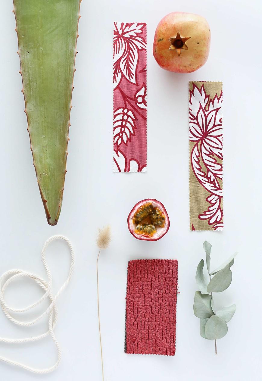 mood-board-rose-tissu-coussin-motif-toiles-de-mayenne